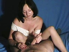 Lovely amateur wife Zoe drives mad of hot jizz on her nice face