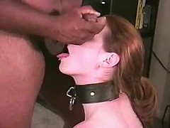 Amateur wife used as dirty sex slave for black master and wife sex tube