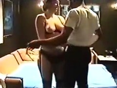 Stunning wife sex videos from amateur archive with BBW whore sucking big black dick